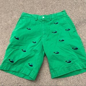 Polo by Ralph Lauren green whale shorts